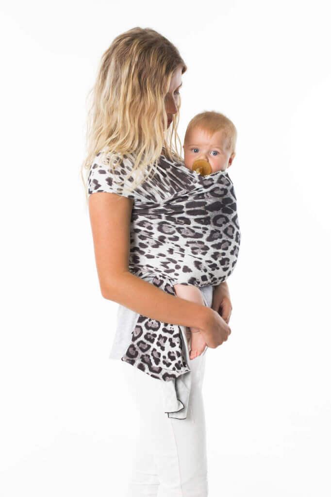 Chekoh Leopard Wrap Baby Carriers Australia