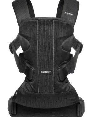 babybjorn baby carrier one black mesh