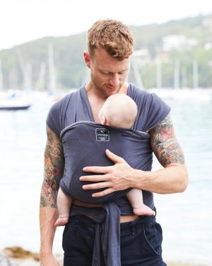 hug a bub organic lightweight wrap carrier